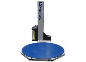 Fóliovací stroj paliet CYKLOP CST 202 - Fóliovacie zariadenie paliet prieťažnou fóliou