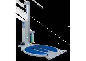 Fóliovací stroj paliet CYKLOP CTT 215 HS - Poloautomatický fóliovací stroj s vysokou kapacitou balenia paliet