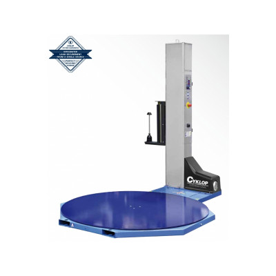 Fóliovací stroj paliet CYKLOP CST 200 - Fóliovacie zariadenie paliet prieťažnou fóliou