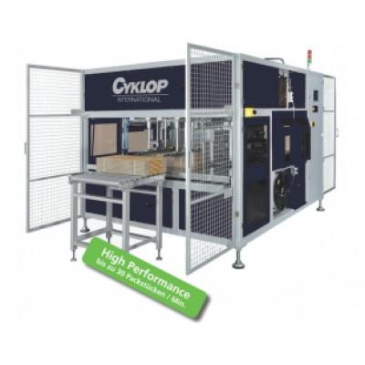 CYKLOP - Ampag Speed TR-CQI - Automatický páskovací stroj určený pre pozdĺžne páskovanie