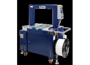 Páskovací automat Ampag Speed TR - Plne automatický páskovací stroj s dopravníkom