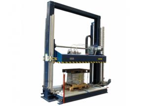 CYKLOP - XZE - Páskovací automat paliet s kombináciou lisu